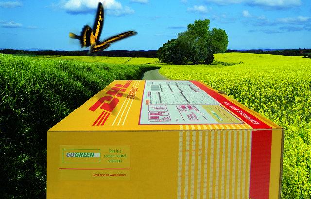 GOGREEN Päckchen und Pakete DHL