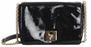 Orla-Kiely Robin Bag Black